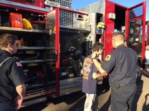 fire truck explore